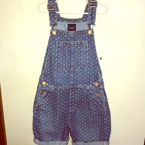 2fedcfde43 GAP Other - The cutest polka dot Gap short overalls